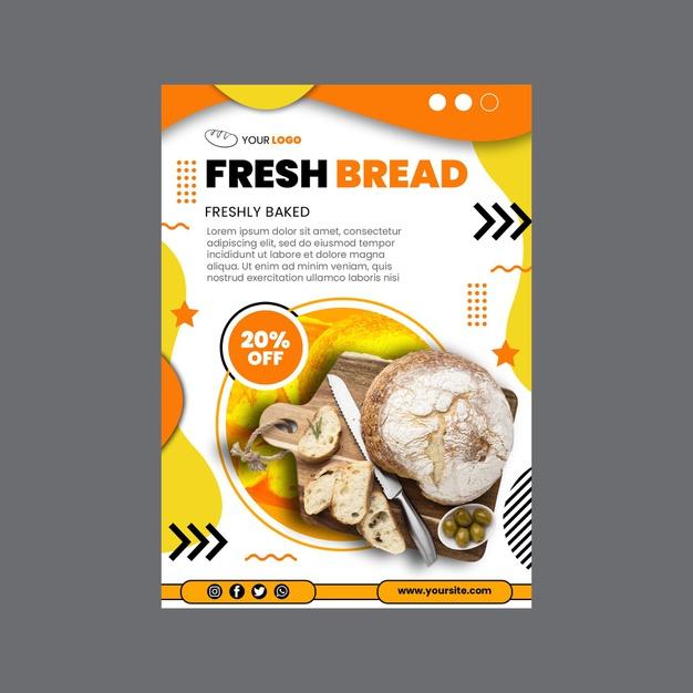 Tờ rơi bánh mỳ FP 13932289