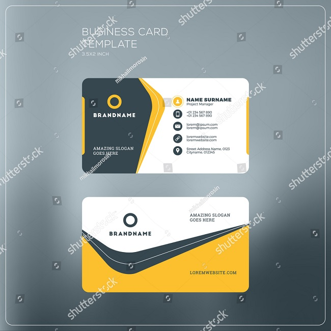 Card visit danh thiếp SS 448497145
