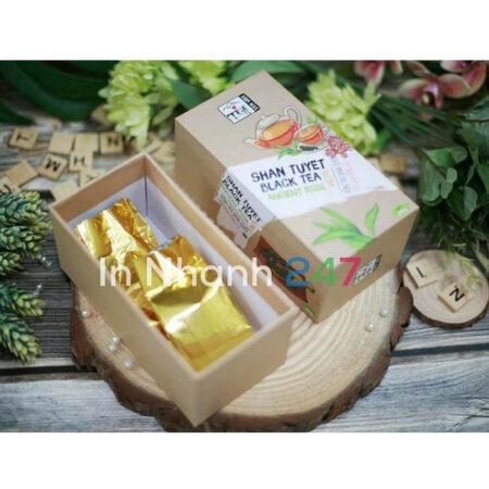 Hộp carton cứng đựng trà