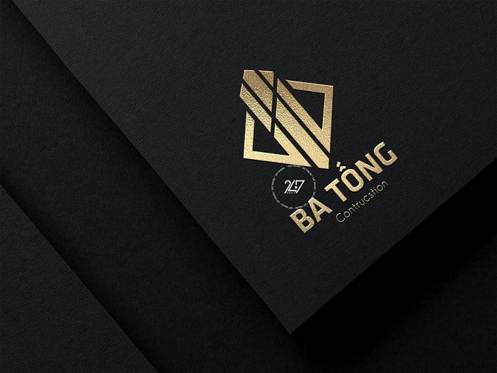 Logo xây dựng Ba Tống