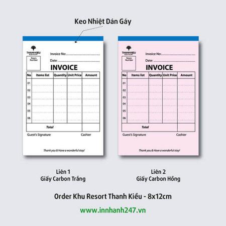 Order khu Resort