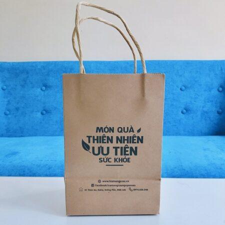 Túi giấy Kraft đựng quà