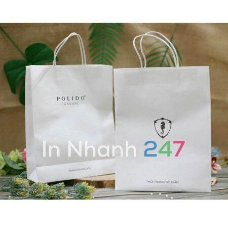 Túi giấy thời trang Polido