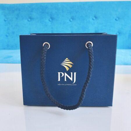 Túi giấy trang sức PNJ