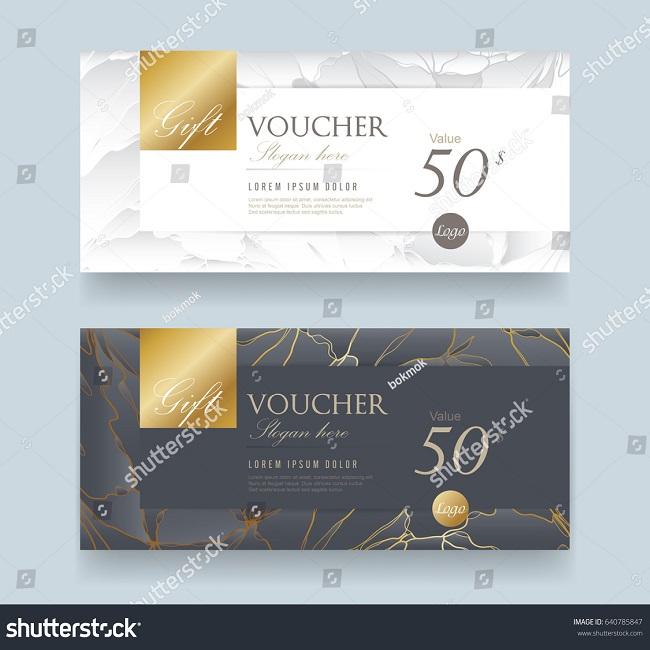 Voucher sang trọng SS 640785847