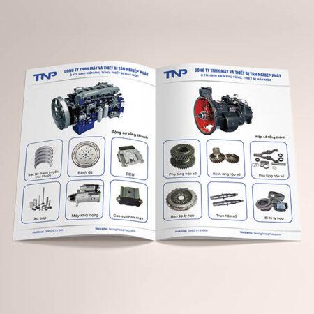 Catalogue sản phẩm máy móc thiết bị