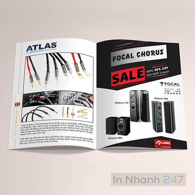 Catalogue sản phẩm thiết bị âm thanh