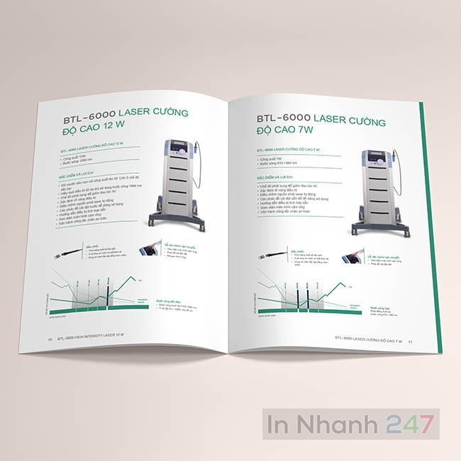 Catalogue sản phẩm y tế máy Laser