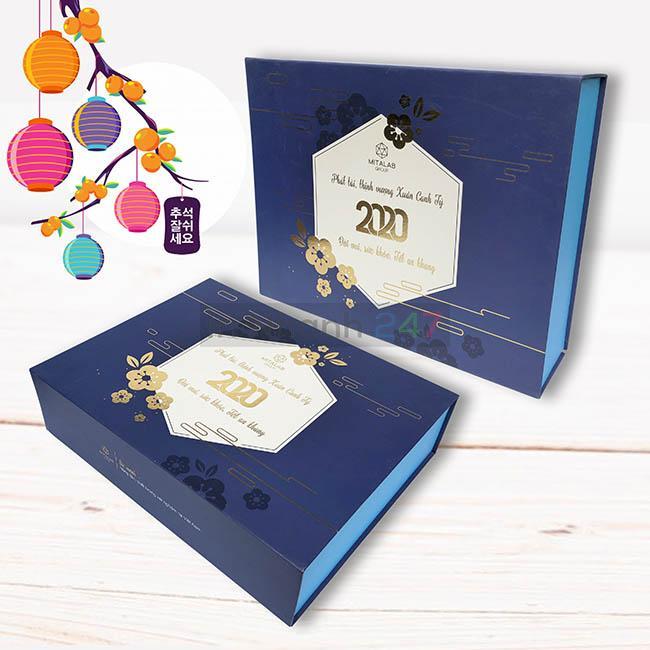 Hộp carton đựng quà tết