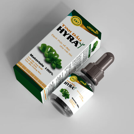 Hộp giấy sản phẩm tinh dầu Hyra