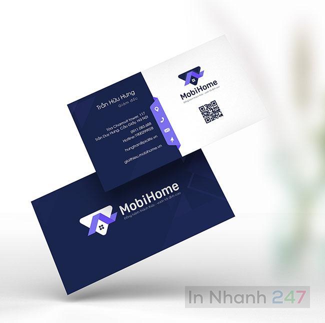 Mẫu Card Visist MobiHome