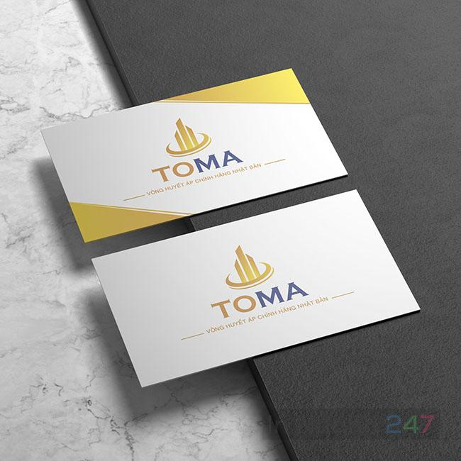 Mẫu danh thiếp TOMA