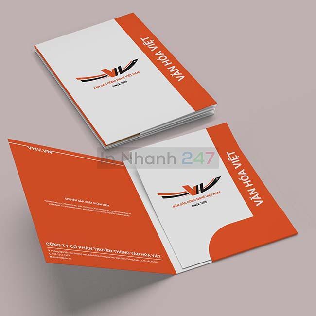 Mẫu folder Văn Hóa Việt