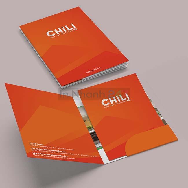 Mẫu kẹp file công ty Chili