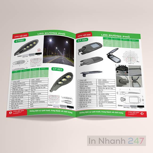 Profile công ty đèn Led