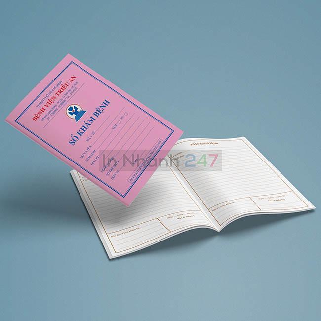 Sổ khám bệnh viện Triều An