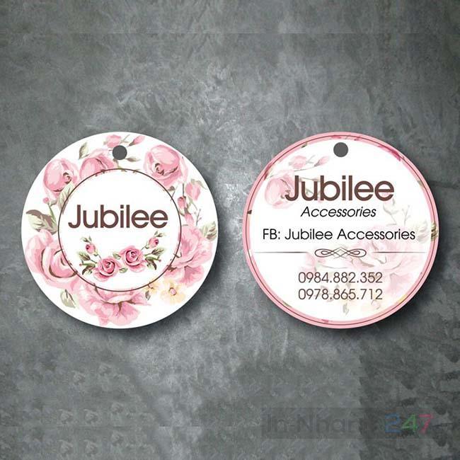 Tag quần áo Jubilee