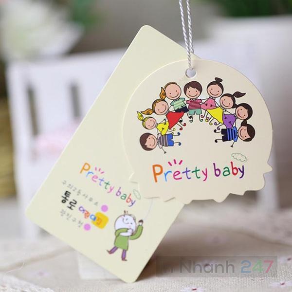 Tag quần áo Pretty Baby