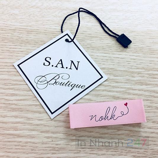 Tag quần áo San Boutique