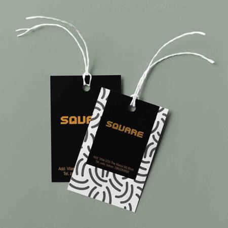 Tag quần áo Square