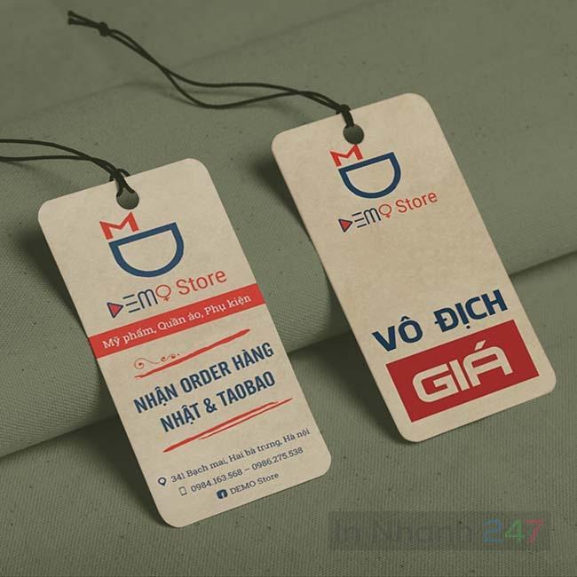Tag quần áo Taobao
