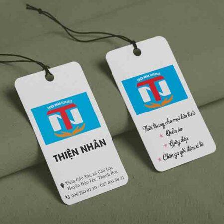 Tag quần áo Thiện Nhân