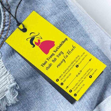 Tag quần áo Xu Xinh
