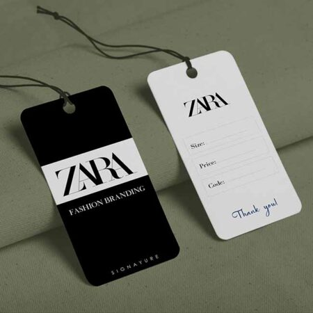 Tag quần áo Zara