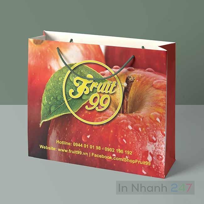 Túi giấy hoa quả Fruit 99