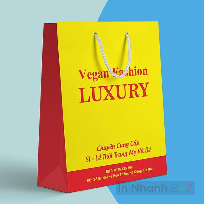 Túi giấy thời trang Luxury