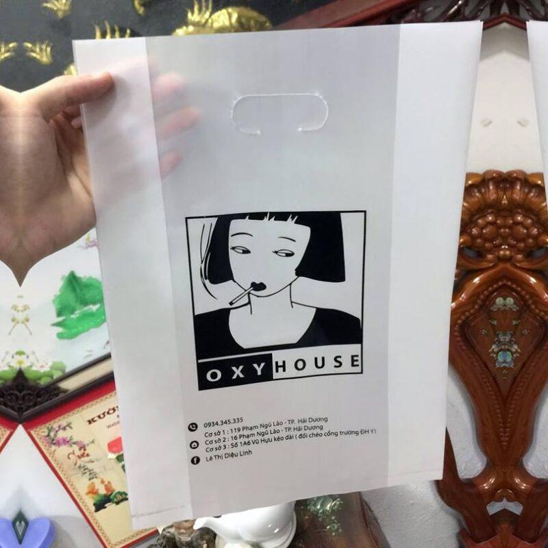 Túi nilon HD mờ Oxy Mouse