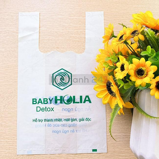 Túi nilon HD siêu thị Holia
