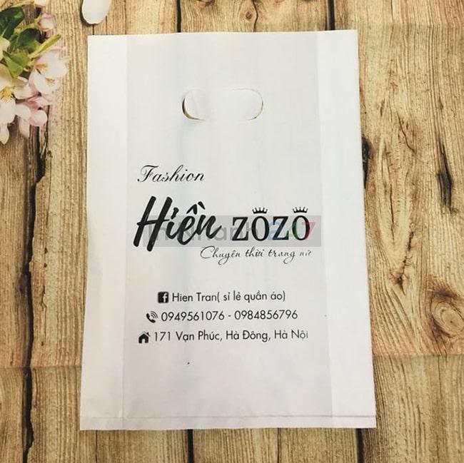 Túi nilon HD trắng mịn Hiền Zozo
