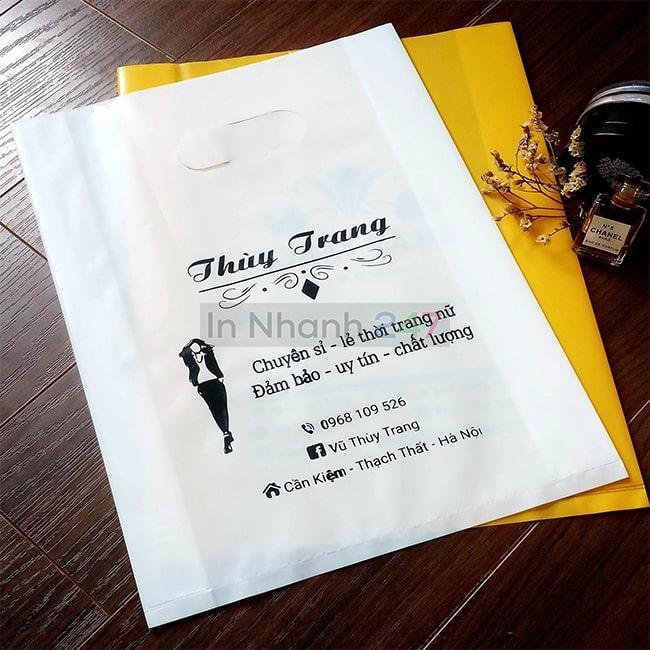 Túi nilon PE trắng sứ Thùy Trang