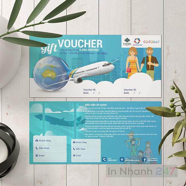Voucher du lịch Oh Vacation