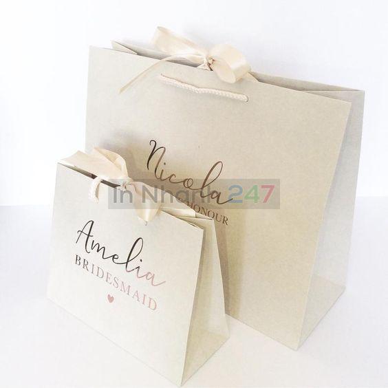 Túi giấy đựng trang sức đẹp