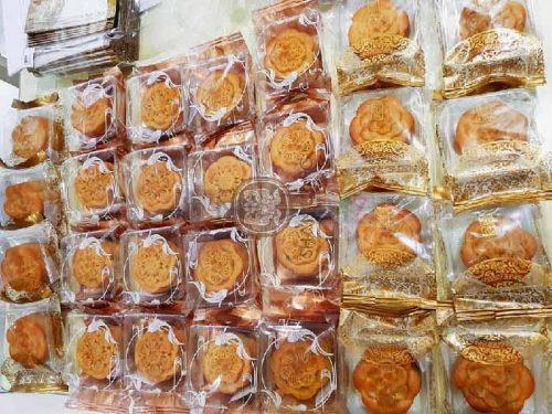 Bánh trung thu bao bì nilon